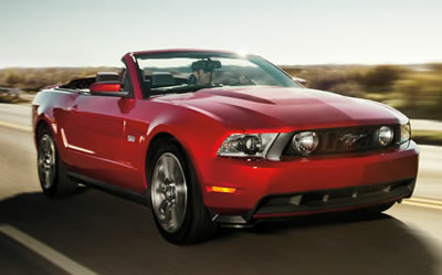 Ford Mustang Convertible Car Hire San Francisco