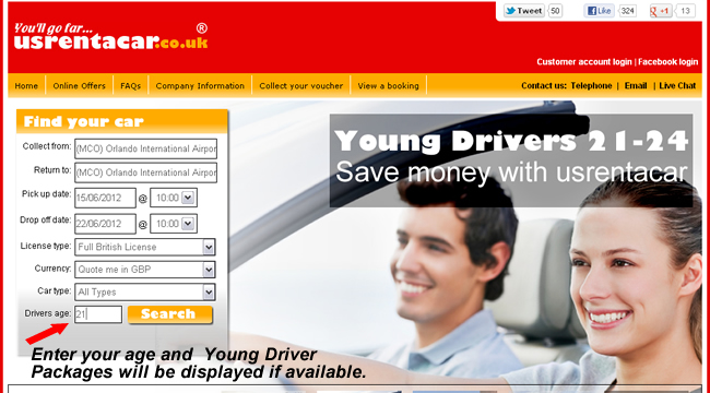 Young Driver Search USA